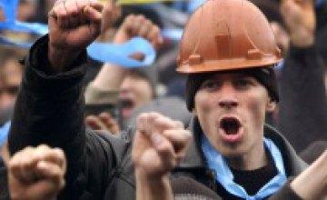 Бастущие шахтеры добились от КЖРК повышения зарплаты