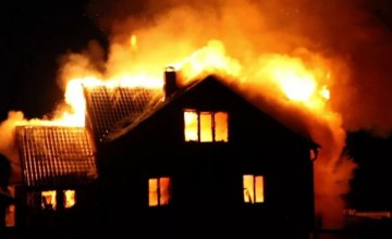 В Кривом Роге на пожаре пострадала 89-летняя пенсионерка