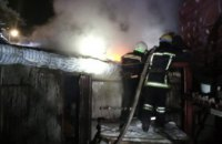 В Павлограде сгорел одноэтажный частный дом