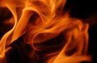 В Днепре при пожаре частного дома мужчина получил 96% ожогов тела