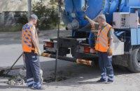 В Днепре продолжают расчищать сеть ливневой канализации