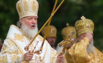 Во время визита Патриарха Кирилла в Днепропетровск задержали двоих помощников народного депутата