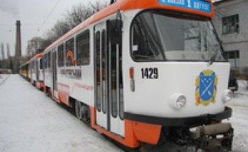 В городе обкатали новые немецкие трамваи (ФОТО)