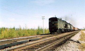 В Днепропетровской области грузовой вагон сошел с рельс