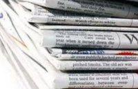 Большинство украинцев получают информацию из газет и телевидения