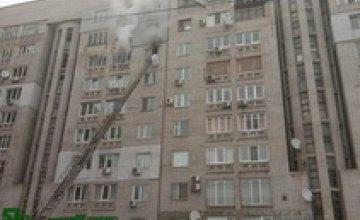 Полиция начала расследовать гибель 2-летней девочки на пожаре в АНД районе Днепра
