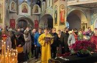 В храме святого равноапостольного князя Владимира состоялось праздничное богослужение в честь праздника Входа Господня в Иерусалим (ФОТОРЕПОРТАЖ)