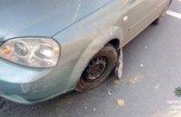 В Херсоне водитель заснул за рулем и разбил 3 автомобиля