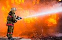 В Днепропетровской области сгорел жилой дом