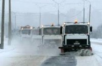 Снег в Украине готовы убирать около 6,5 тыс единиц техники, - Минрегион