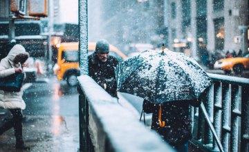 Мокрый снег и сильный ветер: погода в Днепре на 25 февраля