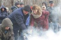 На ЧАО «Днепрополимермаш» проходят специальные объектные учения по гражданской обороне (ФОТОРЕПОРТАЖ)