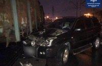 В Днепре женщина за рулем Toyota влетела в вагон на ж/д переезде