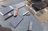 В Павлограде задержали вооруженную группу молодых людей (ВИДЕО)