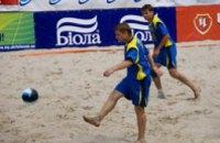 Пляжный футбол в Днепропетровске: расстановка сил определилась