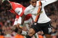 «Шахтер» потерпел разгромное поражение от «Арсенала»