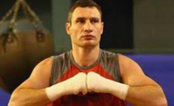 Виталий Кличко стал боксером года по версии WBC