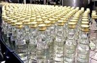 Производство водки в Украине упало почти на 60%