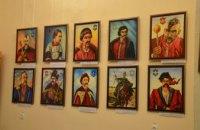 В Днепре открылась выставка казачьих картин (ФОТОРЕПОРТАЖ)
