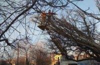 ДТЭК Днепровские электросети ликвидирует аварийные отключения в пострадавших от грозы районах