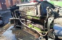 На Днепропетровщине во время попытки разрезать кузов «Жигулей» произошел пожар: есть пострадавшие