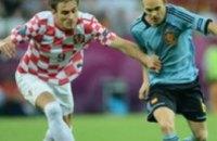 Чемпионы Европы обыграли Хорватов со счетом 0:1