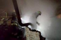 Ночью в АНД районе Днепра загорелась баня