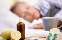 За минувшую неделю гриппом и ОРВИ заболело более 191 тыс. украинцев