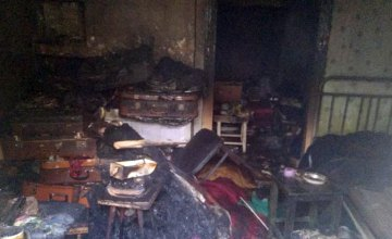 При пожаре в Верхнеднепровском районе погиб 82-летний мужчина