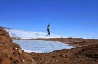 В субботу в Днепропетровске установят первый рекорд Украины по хайлайну