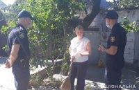 В Никопольском районе полицейские напомнили об ответственности за нарушение правил пожарной безопасности