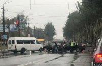 В Кривом Роге троллейбус попал в ДТП: есть пострадавшие