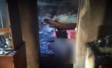 В сгоревшем доме в Верхнеднепровском районе обнаружили тело мужчины
