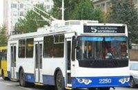В понедельник в Днепре некоторые троллейбусные рейсы изменят маршруты следования