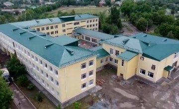 В Покровской опорной школе проводится капитальный ремонт (ВИДЕО)