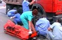 В Луганске грузовик сбил 2-х женщин на переходе