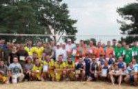 На Днепропетровщине наградили лучших десантников-волейболистов Украины