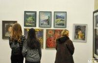 Днепровская детская художественная школа№1 представила свои работы на уникальной выставке «Пастель – от реализма до абстракции»