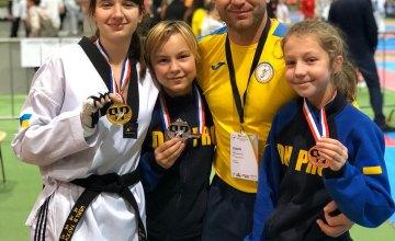 Днепровские спортсмены стали чемпионами Европы по тхэквондо ВТФ и победителями международного турнира «Park Pokal Cup»