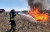 На Днепропетровщине спасатели ликвидировали возгорание в экосистемах (ФОТО, ВИДЕО)