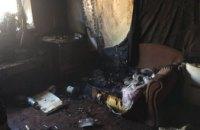 В Днепре на пожаре обнаружено тело мужчины (ФОТО)