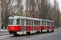 Сегодня в Днепре трамвай №11 закончит свою работу раньше