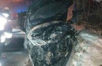 В Днепре компания подростков на дорогой иномарке врезалась в забор: есть пострадавшие (ФОТО)