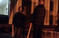 В Днепропетровске «Правый сектор» провел антироссийский митинг