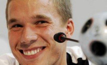 Лукас Подольски уже видит сборную Германии в финале Евро-2008