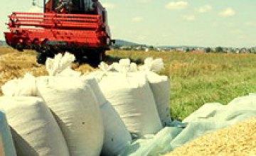 Днепропетровская область собрала первый миллион тонн урожая