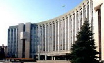 К середине декабря в сессионном зале Днепропетровского горсовета завершится ремонт