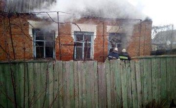 В Никополе электрообогреватель стал причиной пожара в жилом доме