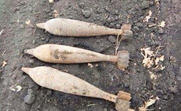 На Днепропетровщине ликвидировали старые боеприпасы