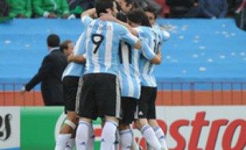 Сборная Аргентины минимально одолела Нигерию